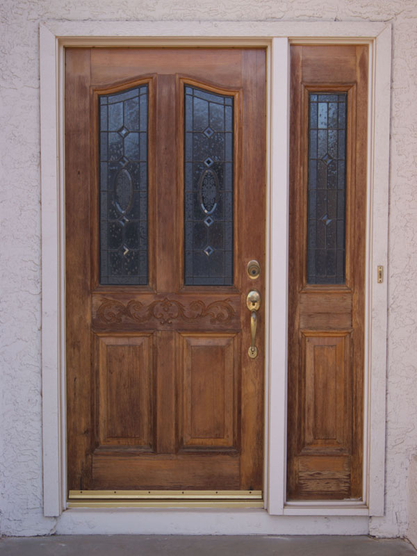 Wood Stain For Exterior Doors How To Refinish An Exterior Door The Easy Way Most Popular